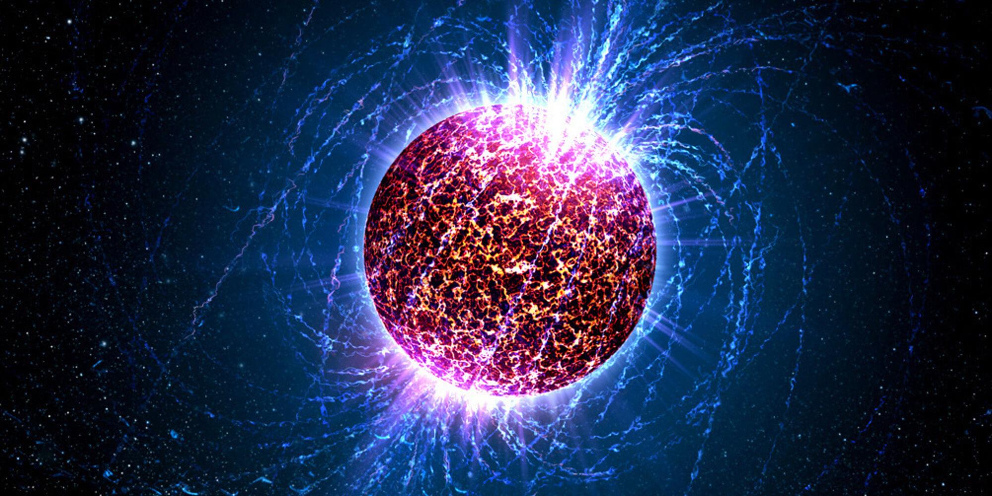 Обнаружена уникальная нейтронная звезда