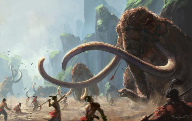 Следы древних охотников на мамонтов можно найти даже без раскопок | Hi-News.ru