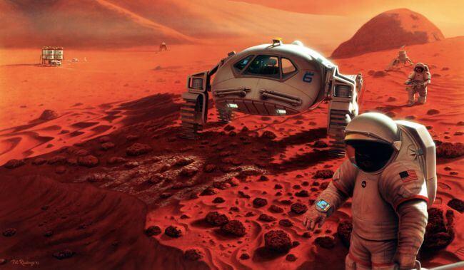 ДНК тихоходок могут помочь человеку колонизировать Марс