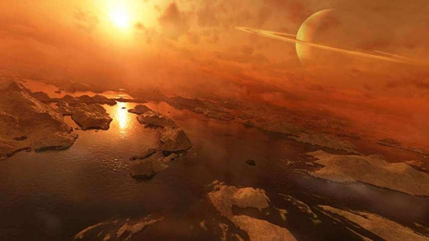 Озера на Титане могут неожиданно взрываться