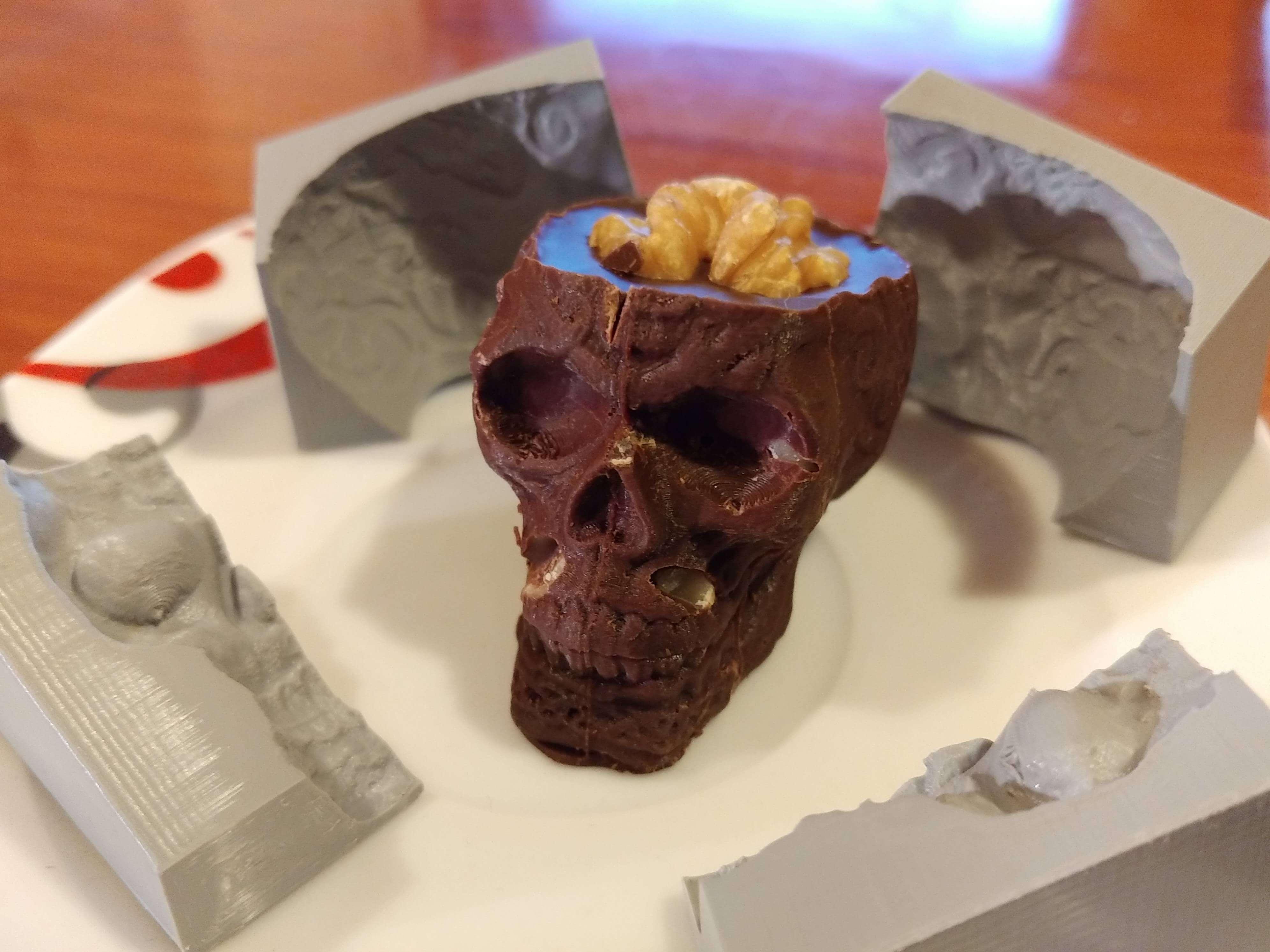Разработаны шоколадные «чернила» для печати десертов на 3D-принтере
