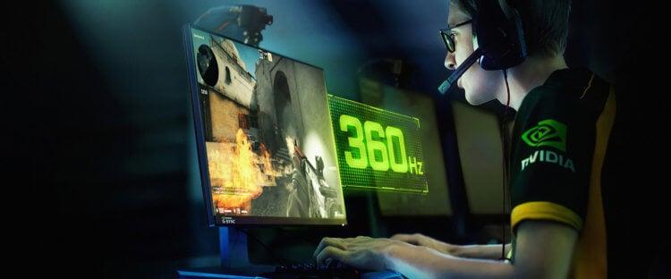 Почему игровые мониторы имеют частоту обновления 144 Гц?