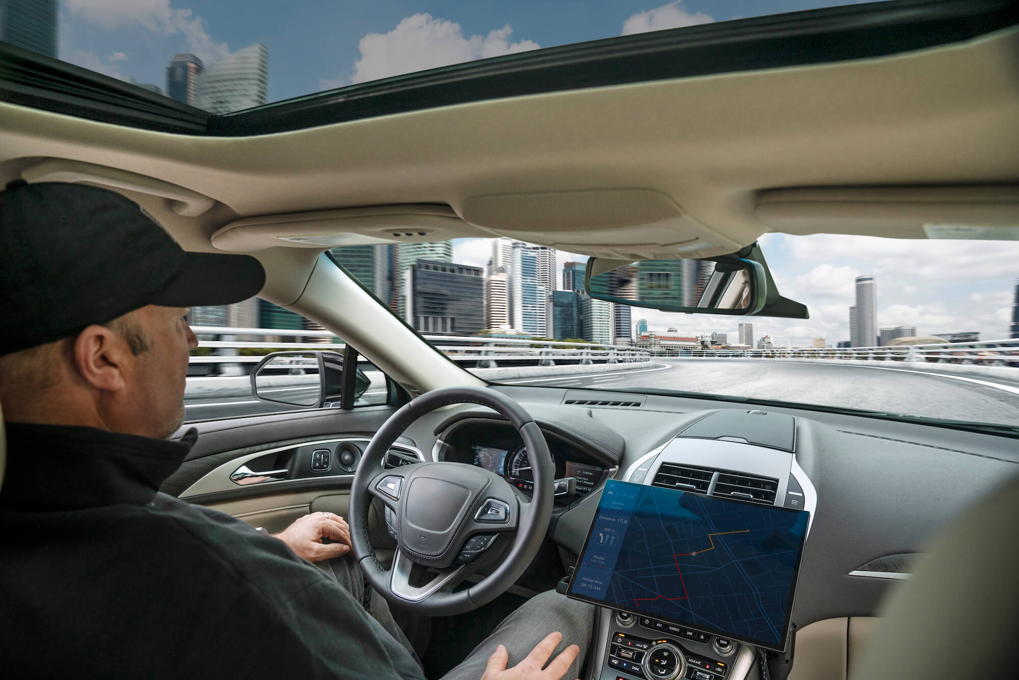 Qualcomm показала автомобильное будущее на CES 2020