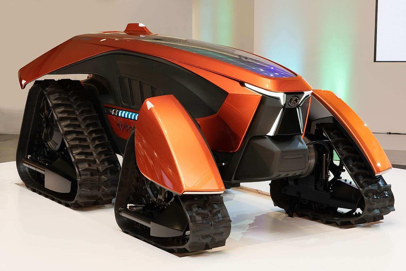 В Японии создан электрический трактор с автономным управлением