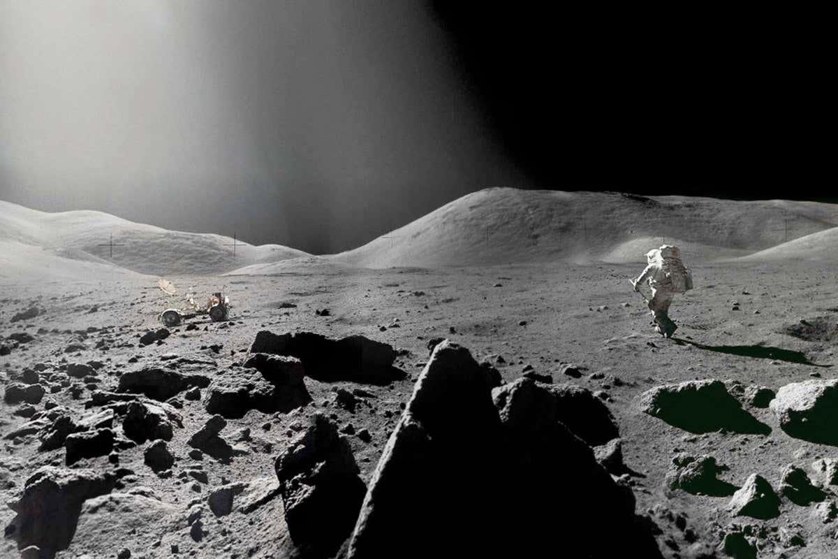 Лунная пыль может быть опасна для человека