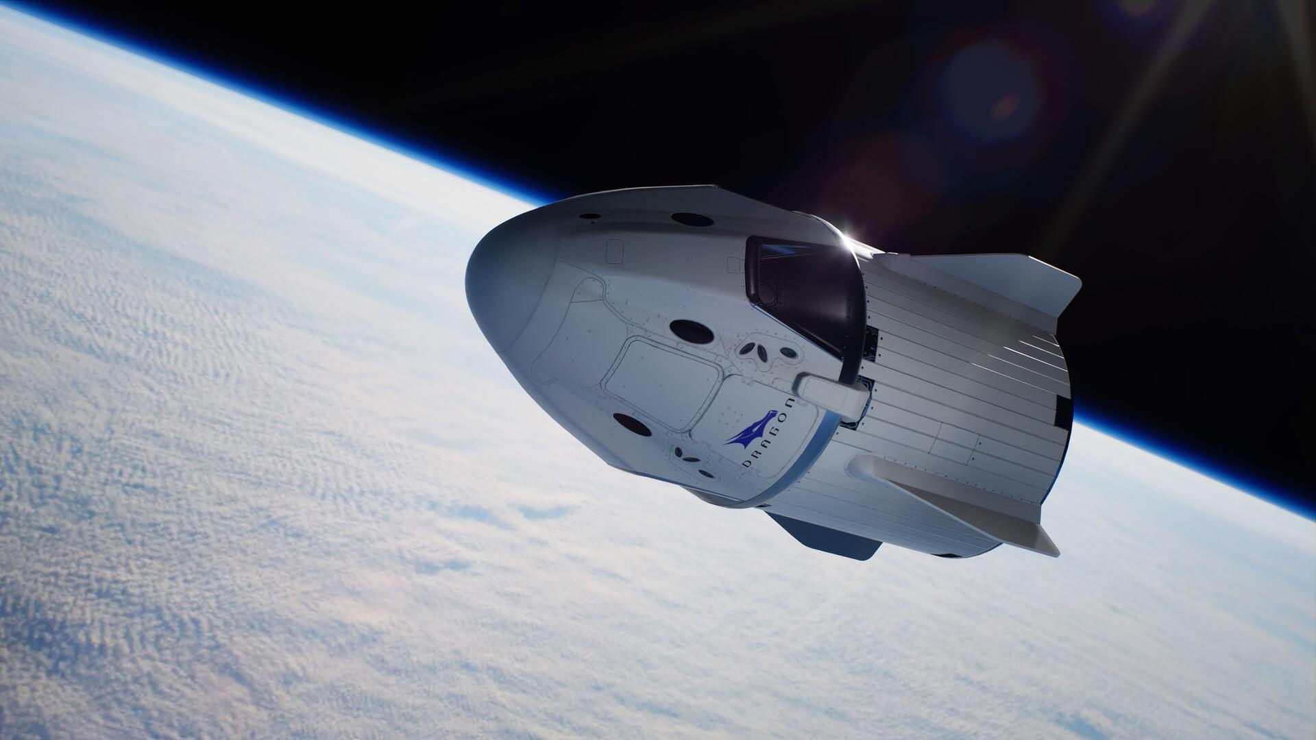 SpaceX назвала дату первого туристического полета на корабле Crew Dragon