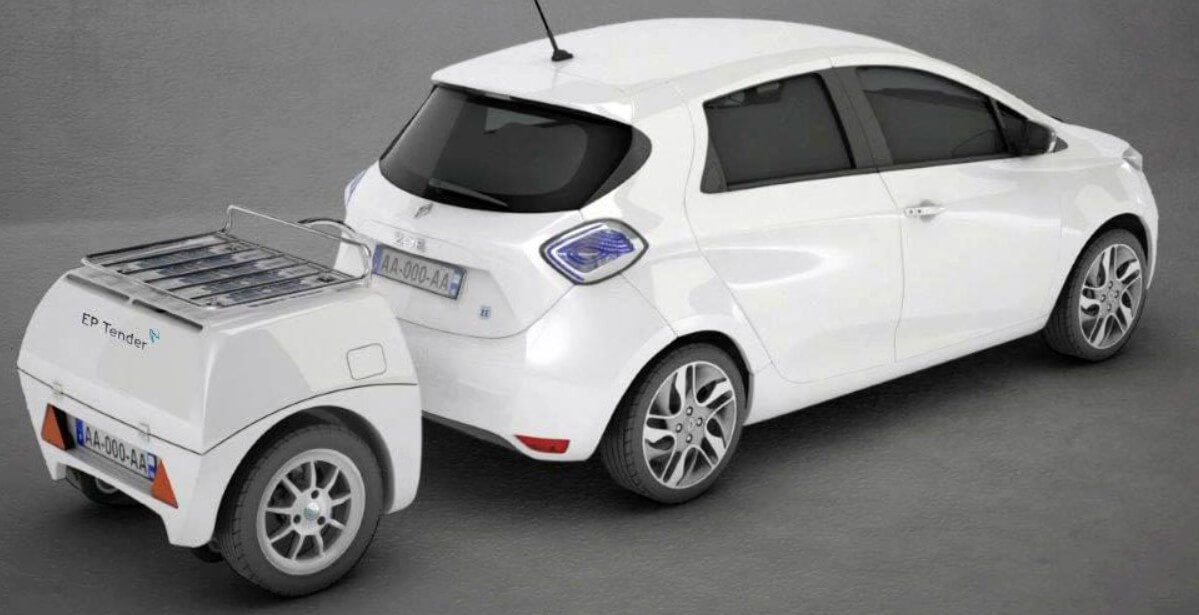 Французская компания создала прицепы-пауэрбанки для электрических автомобилей