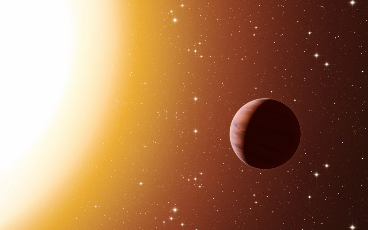 Обнаружена планета, на которой идет дождь из жидкого железа