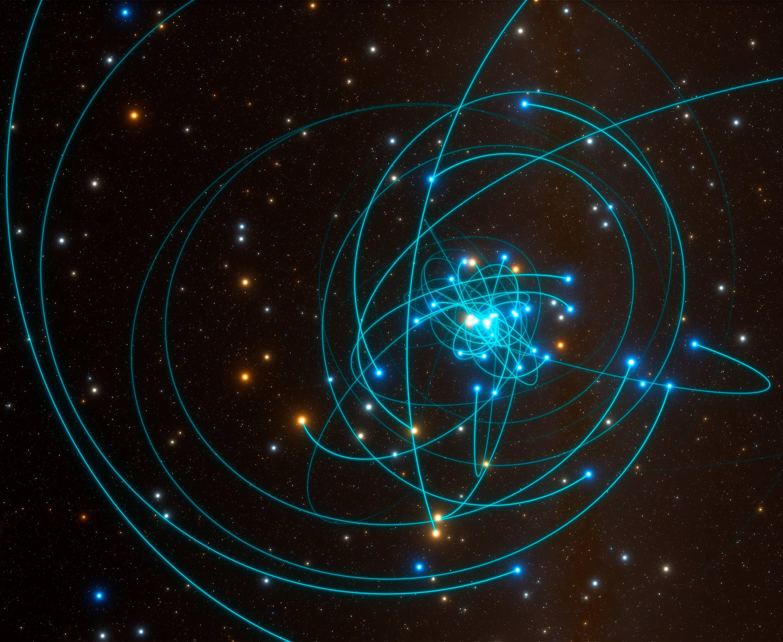 Танец звезды рядом с черной дырой доказал правоту Эйнштейна