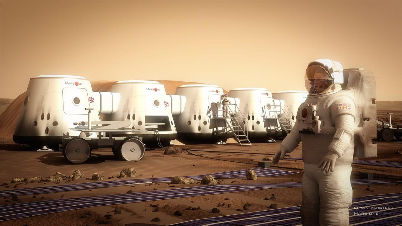 Где на Марсе могут жить люди?