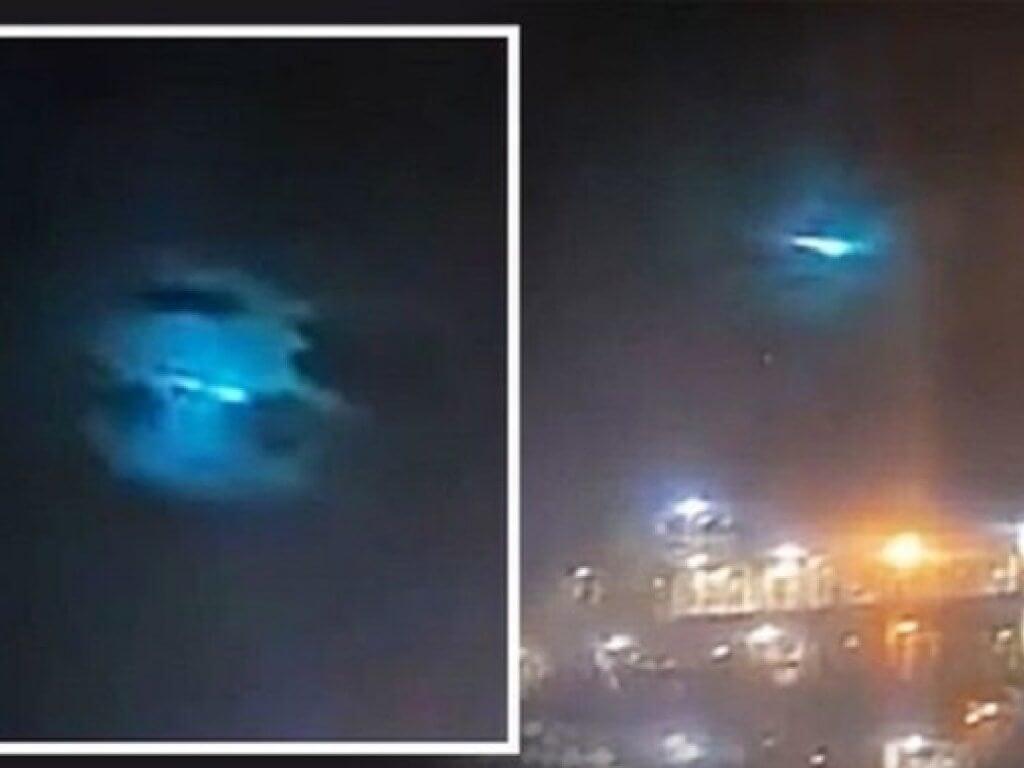 По небу Австралии пролетел огненный шар. Что это было?