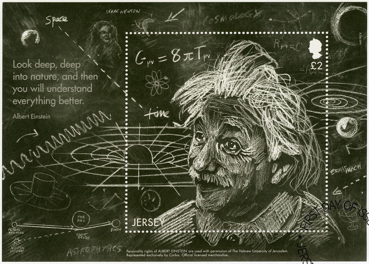 Что такое Общая теория относительности Эйнштейна?
