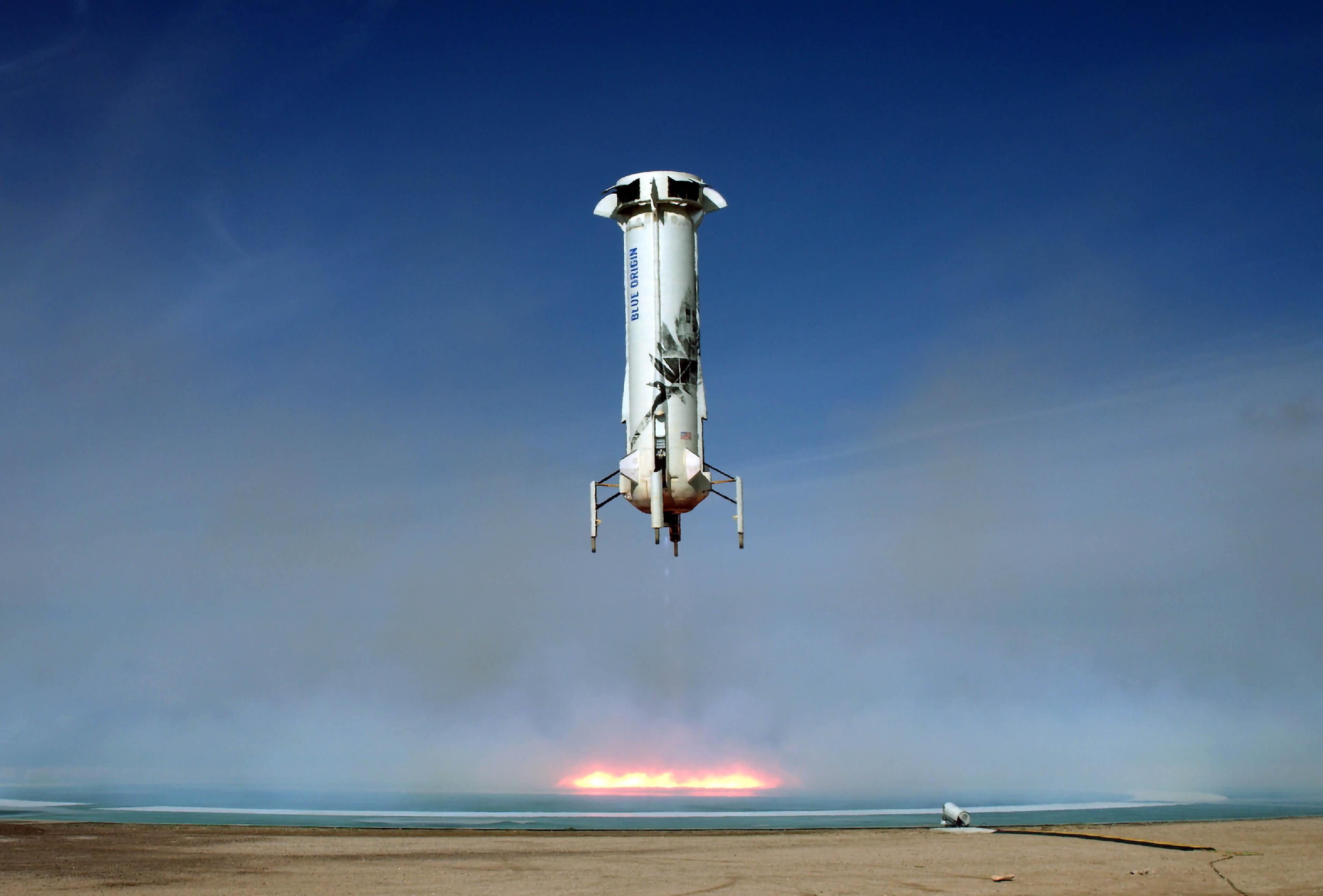 Blue Origin New Shepard
