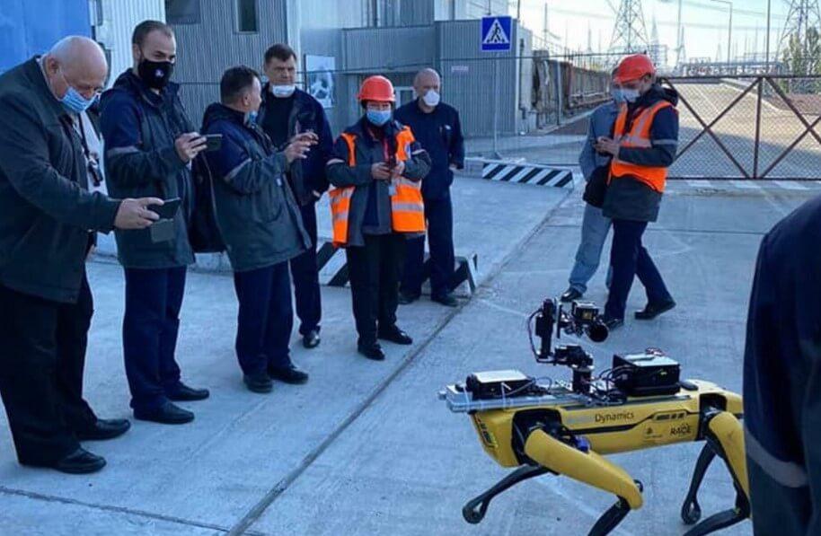 Робот Boston Dynamics посетил Чернобыль. Но для чего?