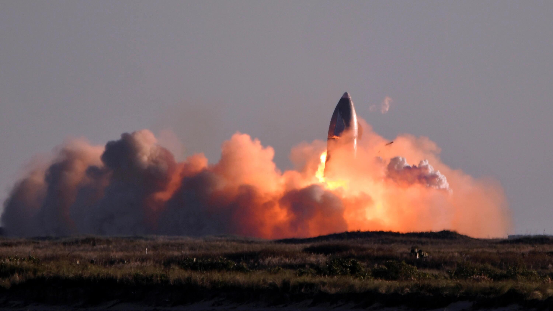 Полет на Марс отменяется: корабль Starship разбился при посадке
