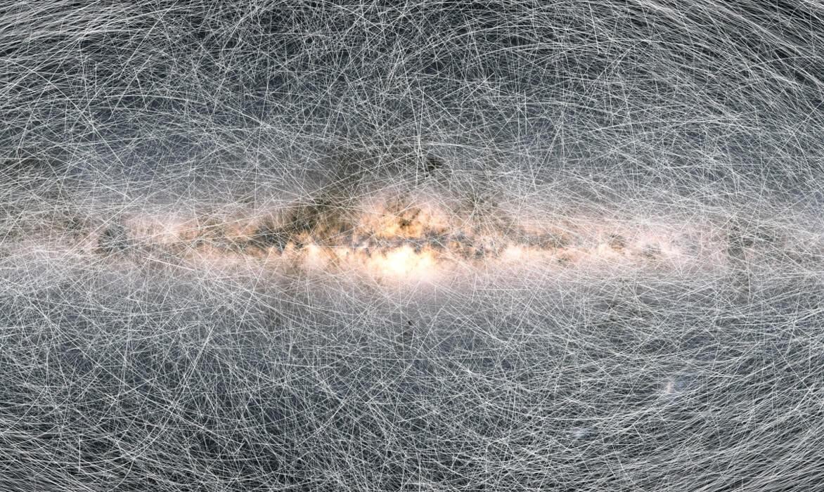 Астрономы создали новую, более подробную карту Млечного Пути