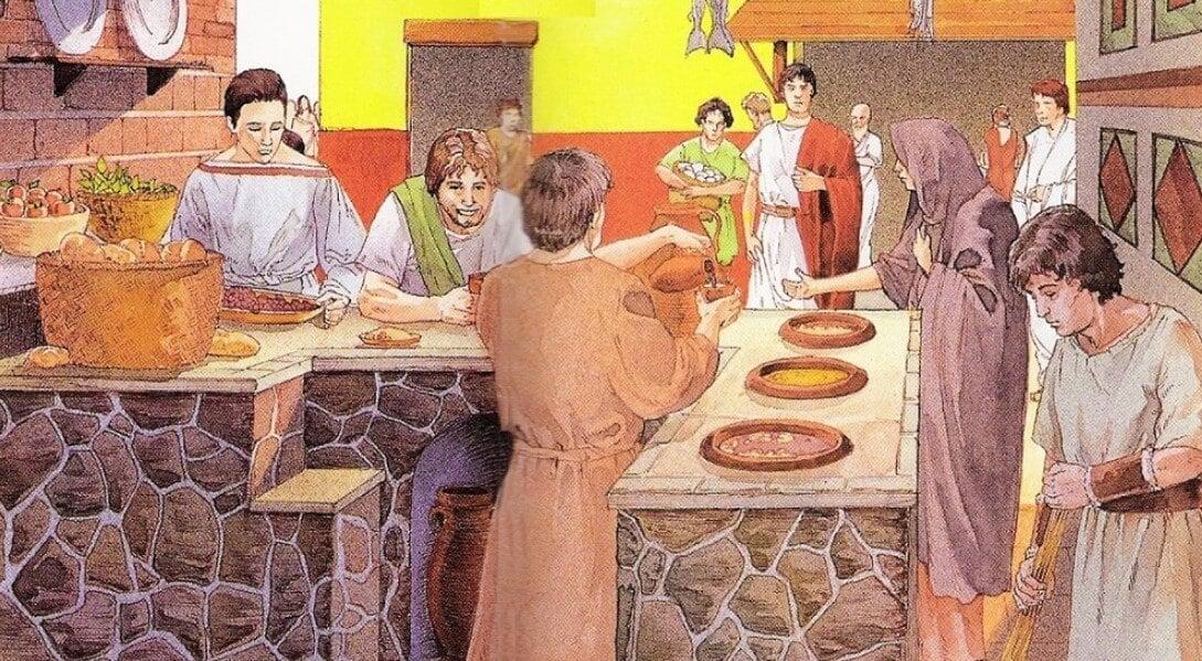 Первые фастфуды появились в Древнем Риме. Какими они были