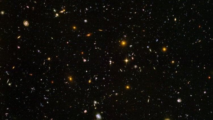 Обнаружена галактика, возраст которой составляет 13,77 миллиардов лет