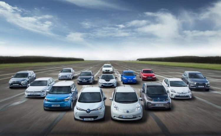 Самые популярные электромобили в разных странах мира