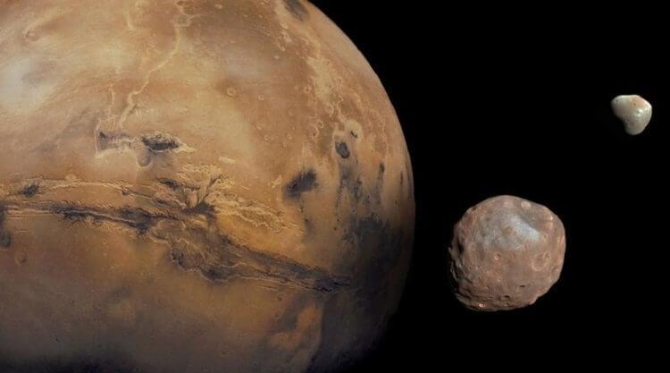 Почему у Марса два спутника, а не один?