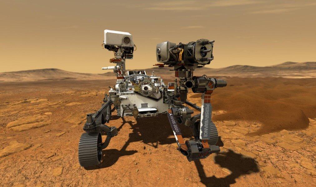 Что интересного показал марсоход Perseverance в первые дни на Марсе