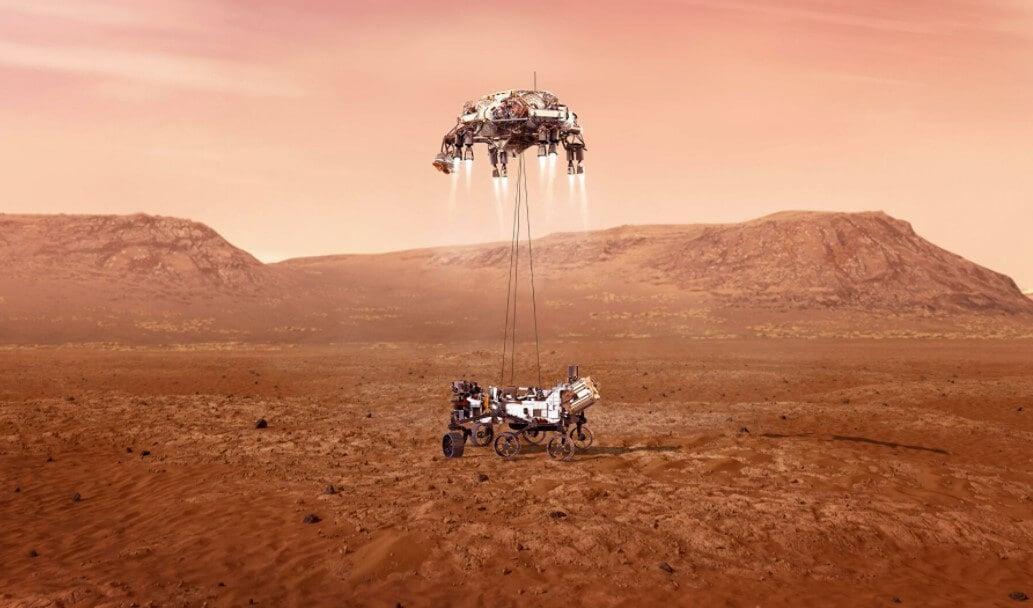 Марсоход Perseverance высадился на Марс. Как это было