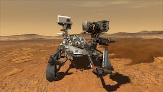 Марсоход Perseverance - фотографии Марса, где находится, поиск жизни на Марсе