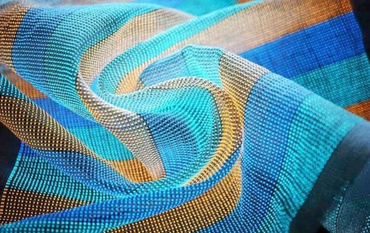 Создана ткань, на которую можно выводить изображения. Она подходит для шитья одежды