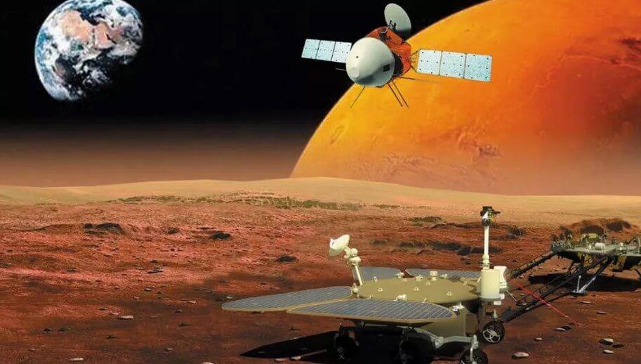В какую точку Марса сядет первый китайский марсоход Тяньвэнь-1