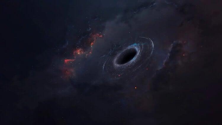 Астрономы обнаружили «блуждающую» черную дыру