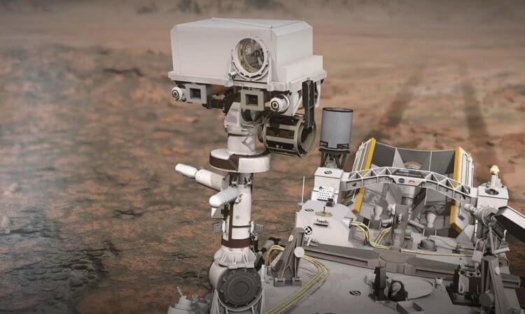 NASA рассказало про самый главный инструмент марсохода Perseverance