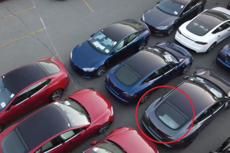 Tesla может выпустить автомобиль с 7 сиденьями. Или это оптическая иллюзия?