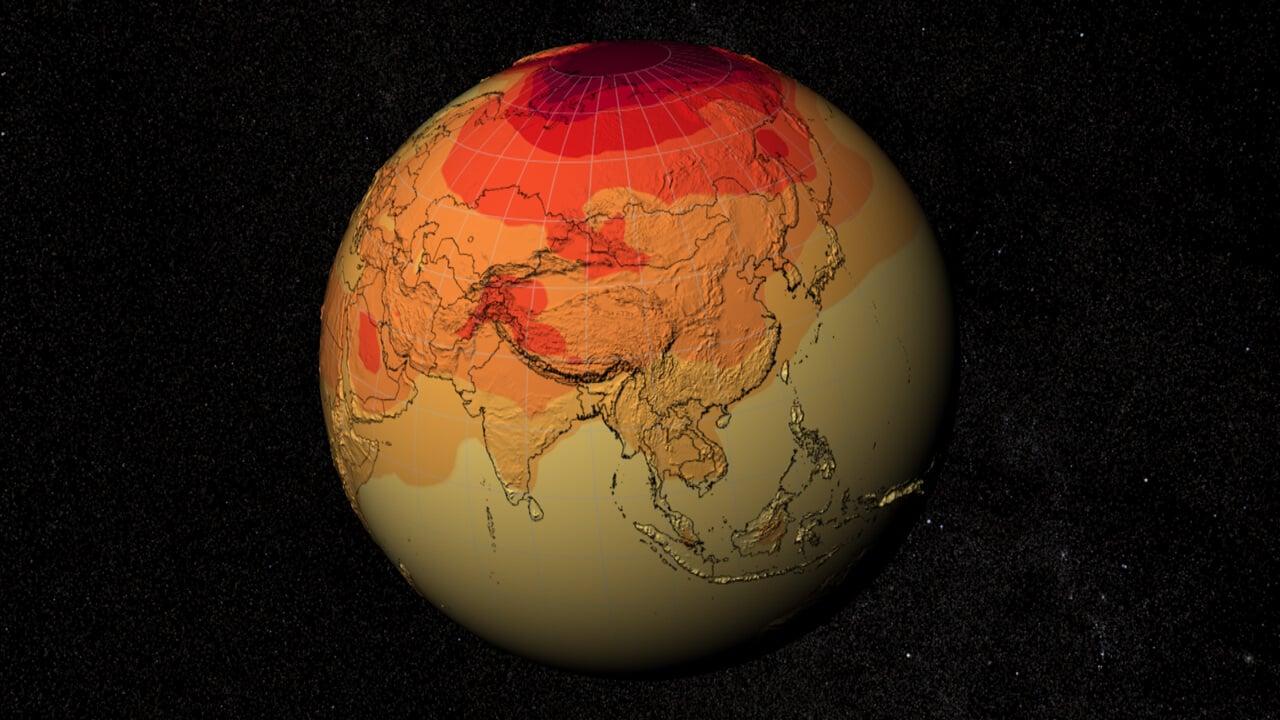 Глобальная температура на планете к концу века может вырасти почти на 2,5 градуса