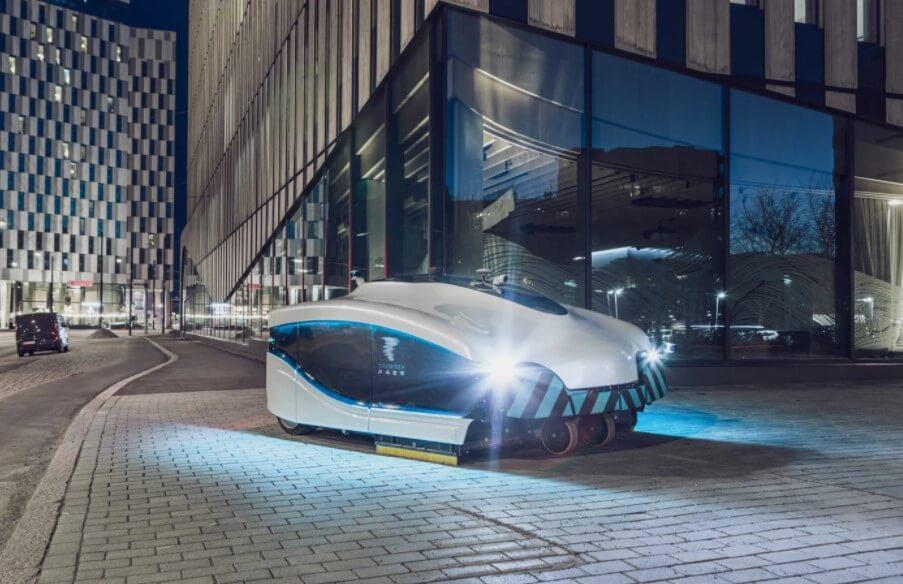 В Финляндии разработан огромный робот-пылесос для уборки улиц. Что он умеет?