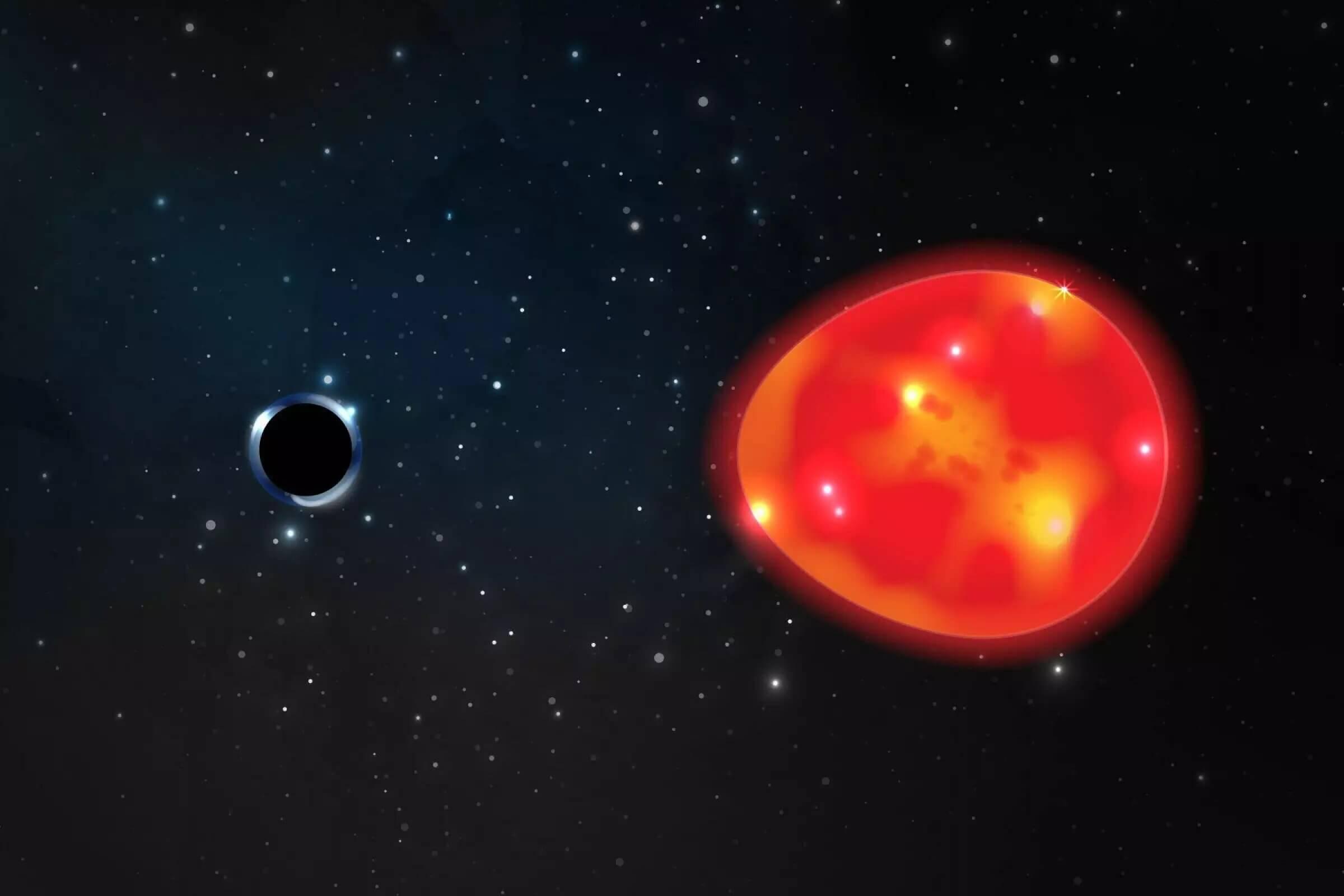 В космосе обнаружен  «Единорог» – ближайшая  к Земле черная дыра