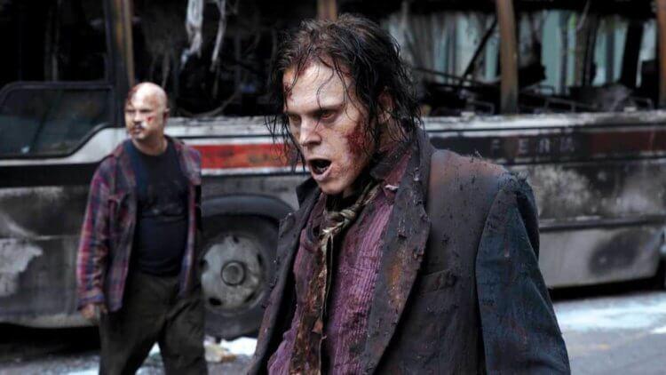 """Зомби из первой серии """"Ходячих мертвецов""""."""