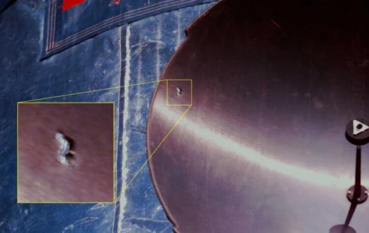 Космический мусор повредил роботизированную руку МКС