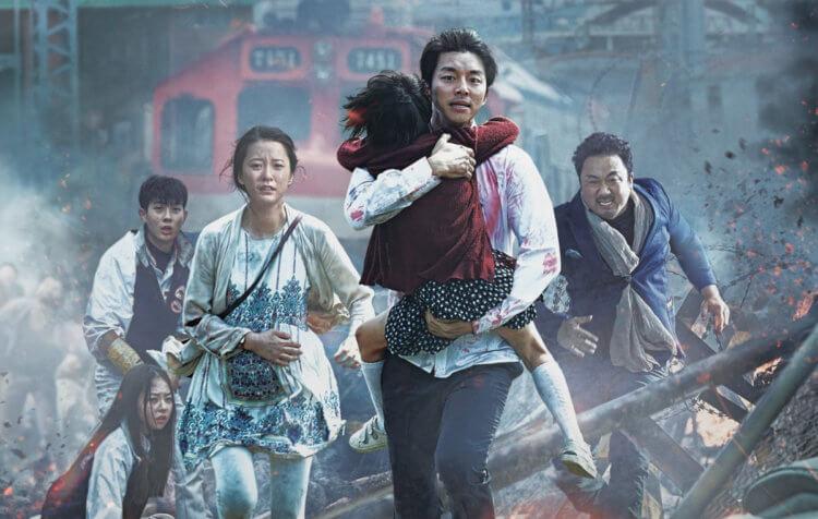 Кадр из фильма «Поезд в Пусан».