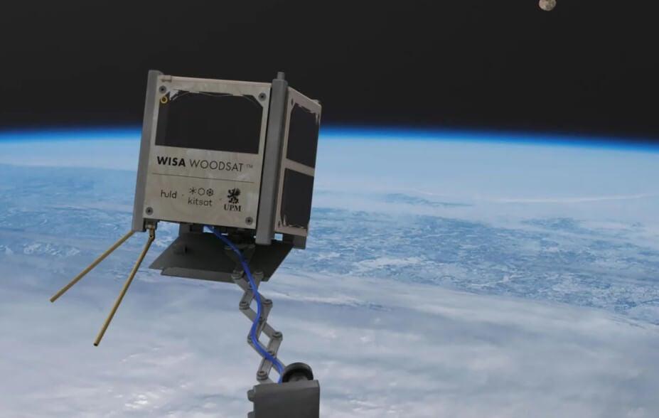 Первый в мире космический спутник из дерева будет запущен в 2021 году