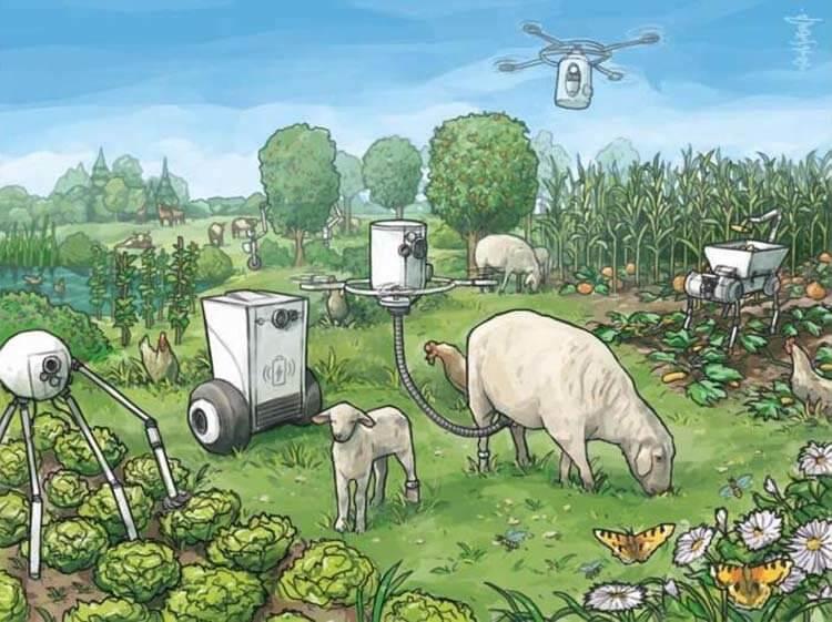 Утопия или антиутопия — по какому пути поведут человечество фермерские роботы?