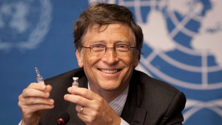 Ох уж этот кровопийца Гейтс! Или он рептилоид?