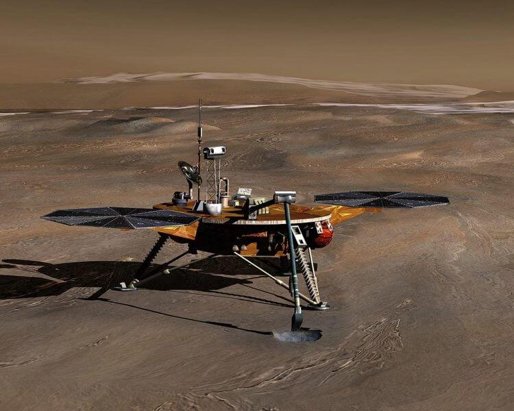 Ученые выяснили возраст льда на Марсе по содержанию пыли и его отражающей способности
