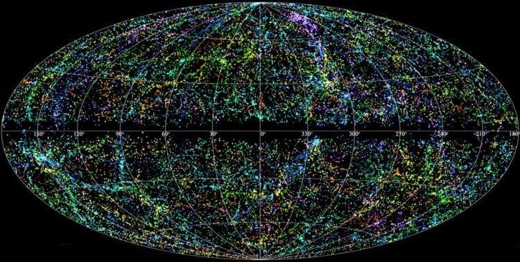 Составлена самая подробная карта расположения черных дыр во Вселенной