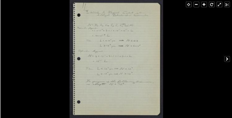 Проект прямого контакта Между Галактическими Цивилизациями посредством Релятивистского Межзвездного Космического полета. 1960-1962 год