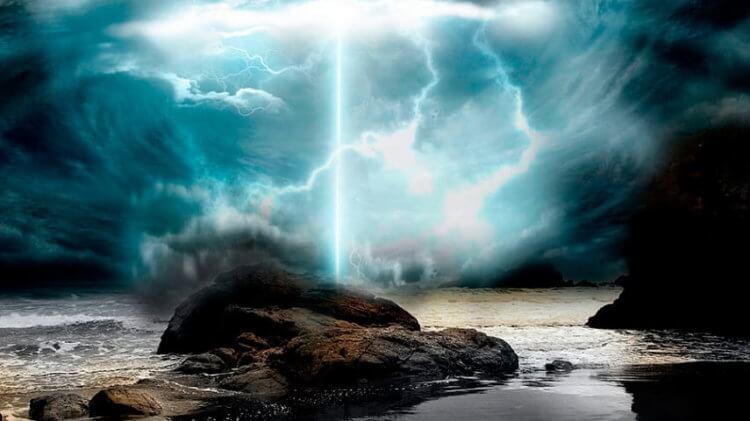 В чем секрет синих джетов и молний на границе атмосферы и космоса