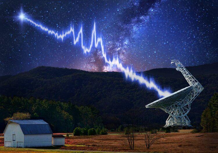 Обнаружен странный повторяющийся сигнал исходящий из центра Млечного Пути