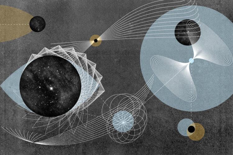 Может ли рябь пространства-времени указывать на червоточины?