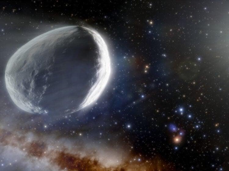 Одна из самых больших комет, которые когда-либо наблюдали ученые, движется в сторону Земли