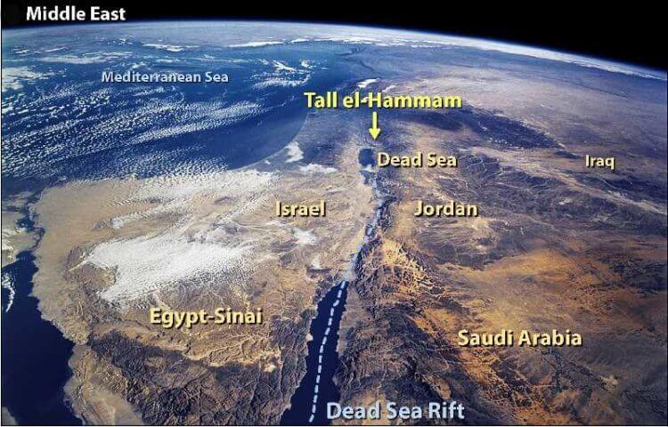 Ученые выяснили, как были уничтожены библейские города Содом и Гоморра